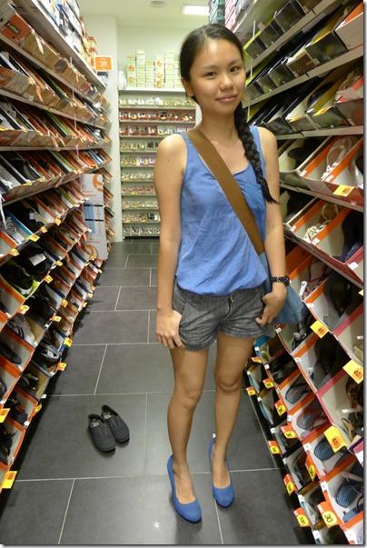pre-UK shopping