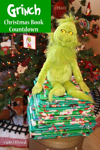 Grinch Christmas Book advent obSEUSSed