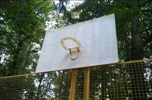 Баскетбольный щит своими руками