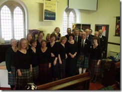 gaelic choir at Tobermory 2011
