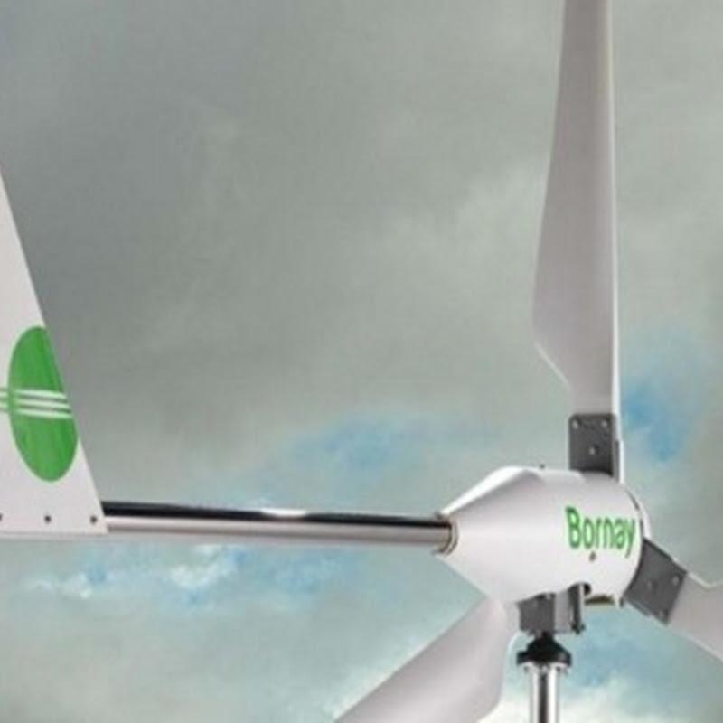 En España utilizan el primer banco de ensayos de palas de pequeños aerogeneradores