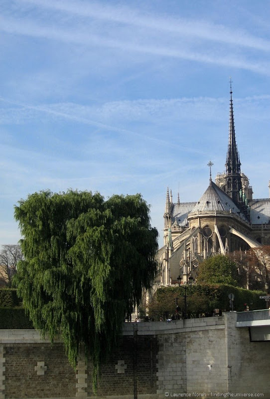 Notre Dame de Paris buttresses