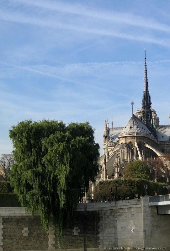 Notre Dame de Paris buttresses