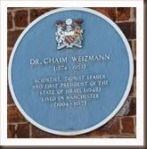 Chaim.Weizmann.Plaque