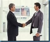 shake hand men