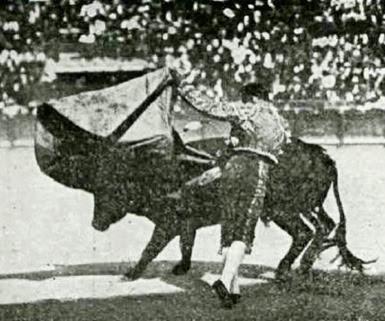 1919-07-28 Pamplona Joselito veronica