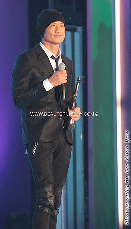 Starhub TVB Awards 2012 Winners Kenny Wong Tak Ban When Heaven Burns My Favourite TVB Drama Most Energetic Award Moses Chan Bowie Lam Singer Youthful ignorance, Theme Song TVB Drama