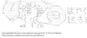 [AA]Yoshikawa Chinatsu Megaphone (Yuruyuri)
