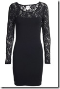 Reiss Lace Yoke Dress