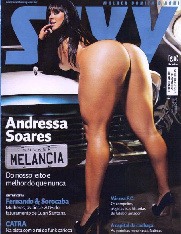 Andressa Soares Revista Sexy Julio 2011
