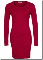 johnstons Cashmere Red Jumper Dress