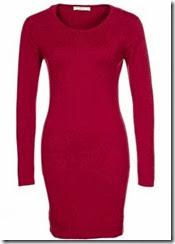 johnstons Cashmere Red Jumper Dress