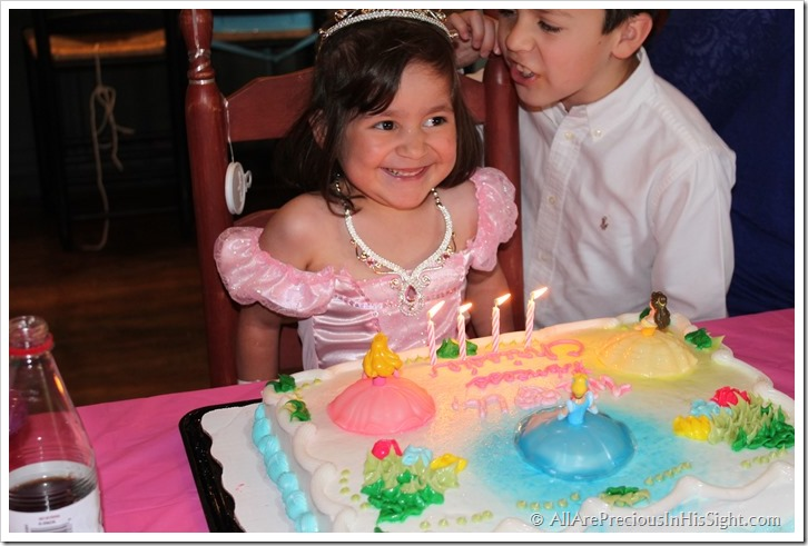 Chrissie's princess party and surgery 274