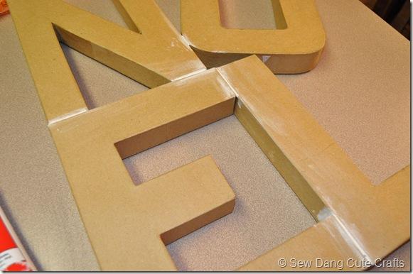 Caulk-letters