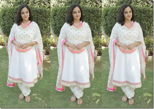 Nithya_Menon_White_Indian_Regular_Salwar