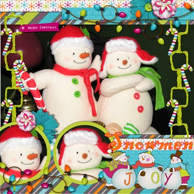 MMTS & TJD - Merry N Bright - Snowmen Joy