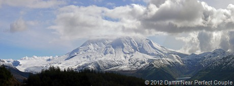 Mt St Helens Panorama