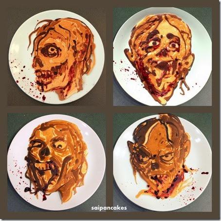 Zombies saipancakes how to make zombie pancake art ccuart Gallery