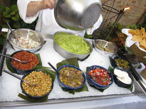 Rick created this luxury guacamole bar that you can replicate at home for your next party!