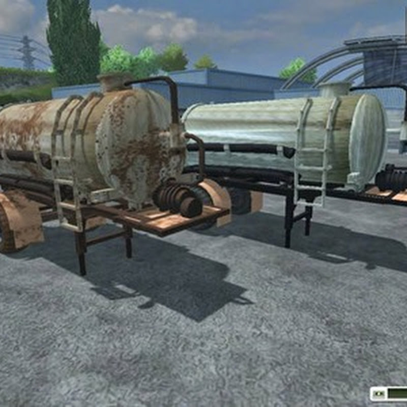 Farming simulator 2013 - HLS liquid manure trailer v 2.0 MR
