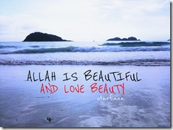 Allah is beautiful_islamic_quotes_pictures