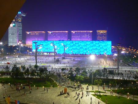 Sights of China: Water Cube