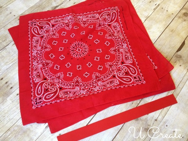 Easy Bandanna Summer Skirt