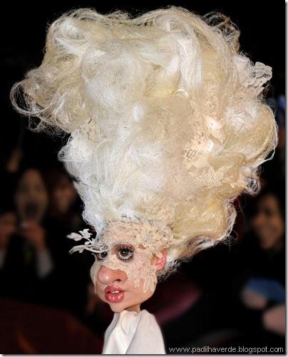 Caricatura Lady Gaga