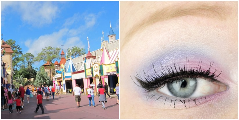 walt disney world fantasyland makeup look