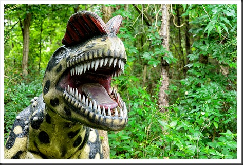Dinosaur World Dilophosaurus