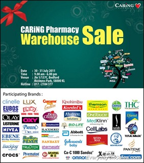 Caring-Pharmacy-Warehouse-Sale-2011-EverydayOnSales-Warehouse-Sale-Promotion-Deal-Discount