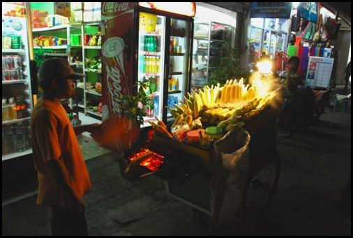 Kuta Corn Vendor