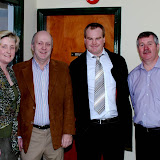 Liam Farrell, Edel Mc Dermott, Tony Wehrly, Steve Cunningham, EAmon Mc Cafferty. (Steve was 1st in Autumn Leage A section - Liam was 2nd)
