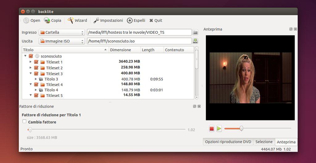 Backlite in Ubuntu Linux