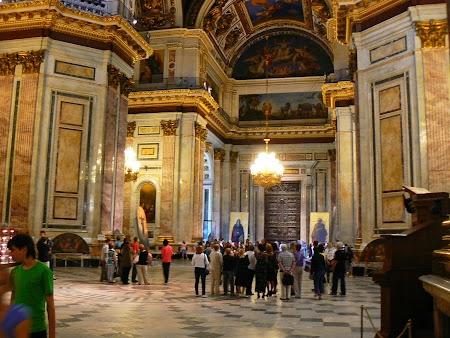Obiective turistice Rusia: Sf. Isac St. Petersburg