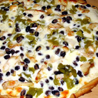 Black and White Pizza