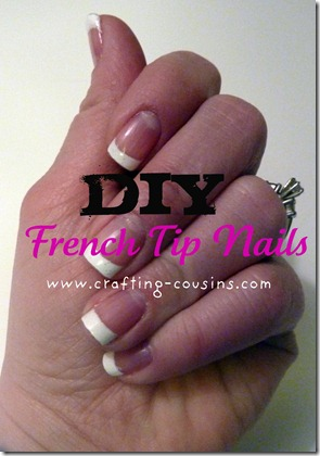 DIY french tip nails (8)