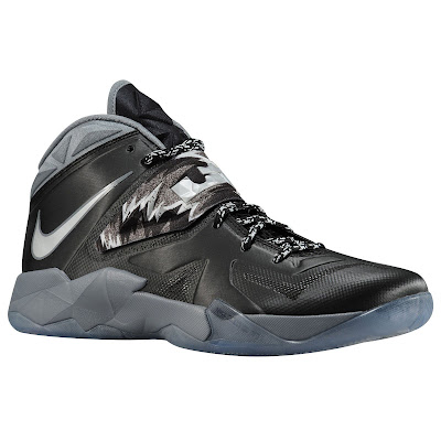 nike zoom soldier 7 gr black grey 1 05 eastbay LEBRONs Nike Zoom Soldier VII $135 Pack Available at Eastbay