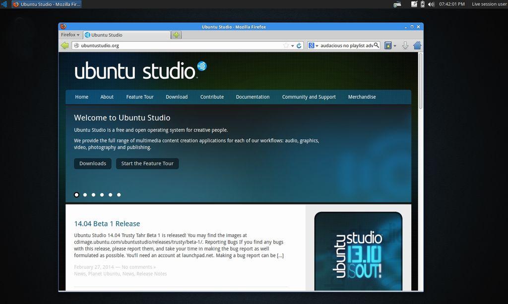 Ubuntu Studio 14.04 LTS
