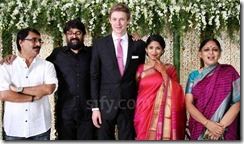 cameraman venu  editor beena paul dughter Malavika wedding pic2