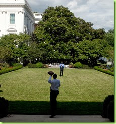 President Barack Obama tosses a football with Personal Aide Reggie Love in the Rose Garden of the White House, June 24, 2009. (Official White House Photo by Chuck Kennedy)  This official White House photograph is being made available for publication by news organizations and/or for personal use printing by the subject(s) of the photograph. The photograph may not be manipulated in any way or used in materials, advertisements, products, or promotions that in any way suggest approval or endorsement of the President, the First Family, or the White House.