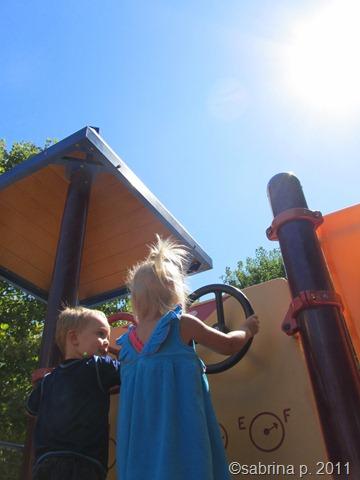 kids and sun