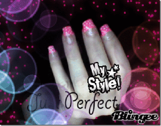my style perfect best set done so far Calcium Gel Nails