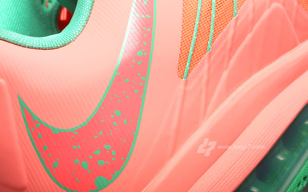 Another Look at Nike Air Max LeBron X Low WATERMELON