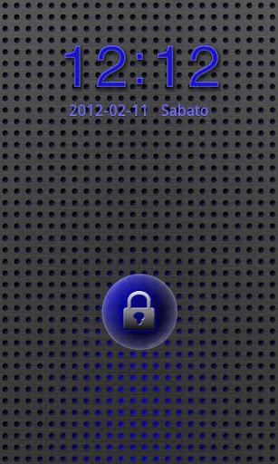 GO Locker Titanium Blue Theme