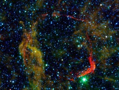 supernova RCW 86 no infravermelho