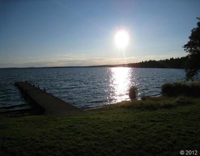 Solnedgång rättvik