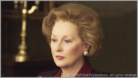 Meryl Streep in her Oscar-winning portrayal of Margaret Thatcher in THE IRON LADY. CLICK to read Streep's thoughts on Thatcher's passing from The New Yorker.