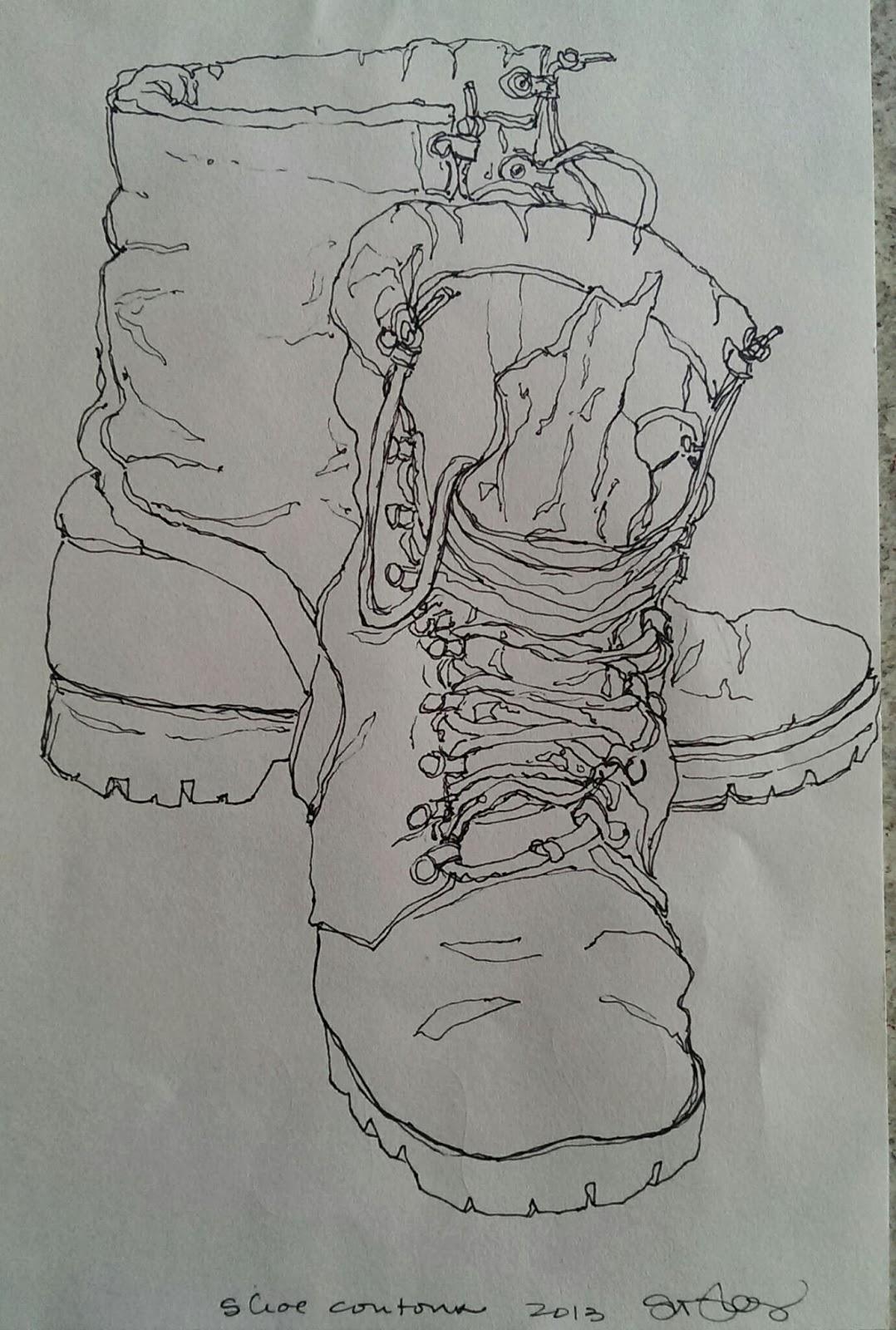 Contour Line Drawing Practice : Contour line practice suzanneiam