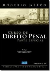 1 - Curso de Direito Penal - Parte Especial - Vol. IV - Rogério Greco